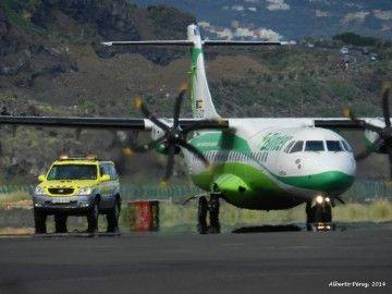 Binter realiza dos vuelos especiales para repatriación de pasajeros