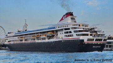 """El buque """"Braemar"""" pertenece a la flota de Fred. Olsen Cruise Line"""