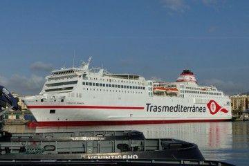Naviera Armas Trasmediterránea garantiza el abastecimiento en todas sus líneas
