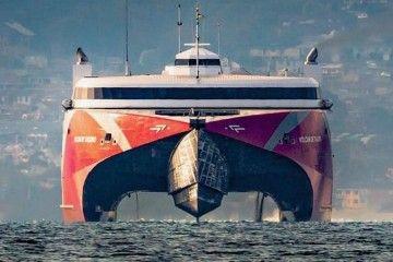 """Un gemelo del catamarán """"Volcán de Tagoro"""" llegará en 2021"""