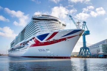 """El buque """"Iona"""" es el mayor de la historia del turismo marítimo del Reino Unido"""