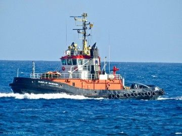 """""""Fairplay Bandama"""", uno de los remolcadores asignados al puerto de Las Palmas"""