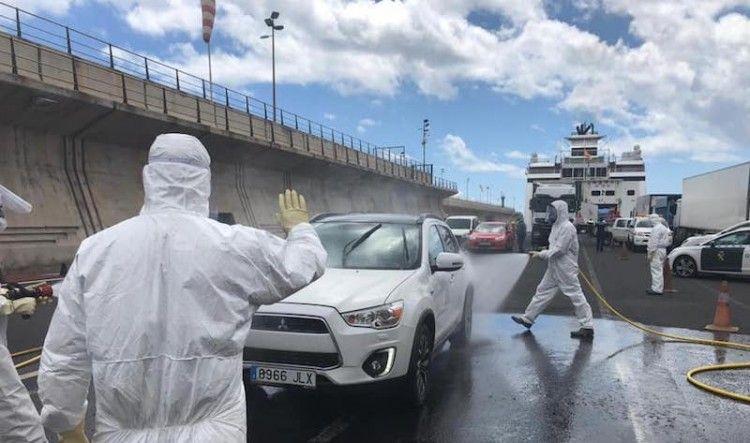 La crisis del coronavirus afecta directamente a la actividad portuaria