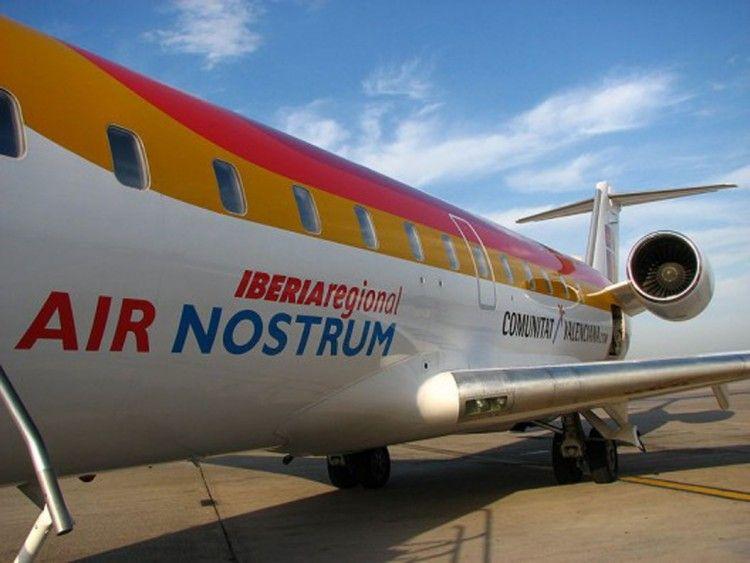 Air Nostrum se queda en tierra afectada por la crisis del coronavirus