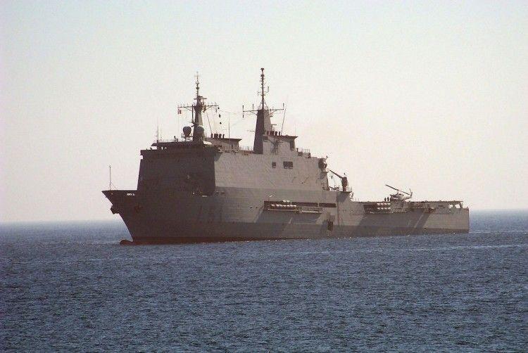 """El buque """"Galicia"""" actuará de hospital de campaña en Melilla"""