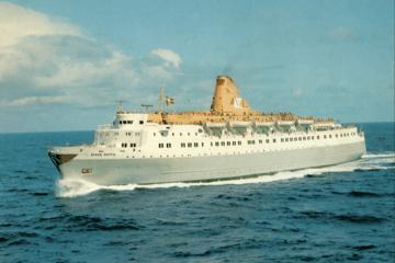"""El buque """"Black Watch"""", en sus primeros años de mar"""
