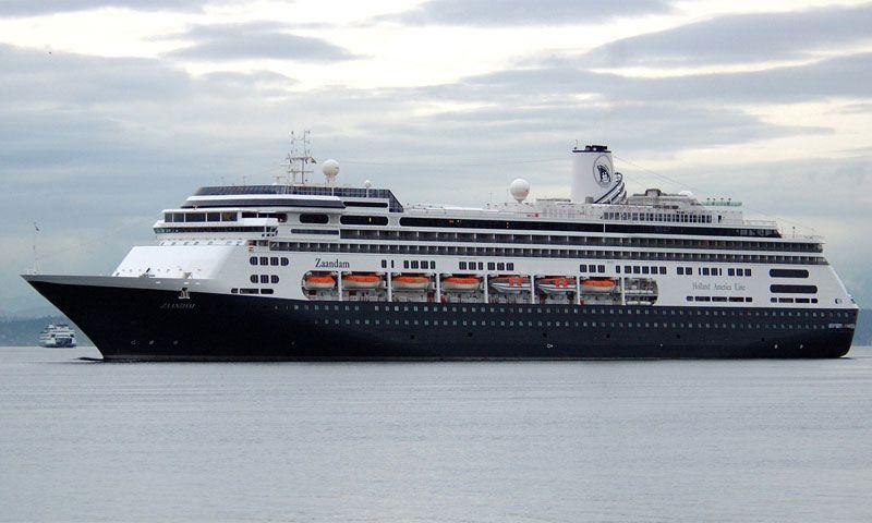 """El buque de turismo """"Zaandam"""", triste protagonista de este suceso"""