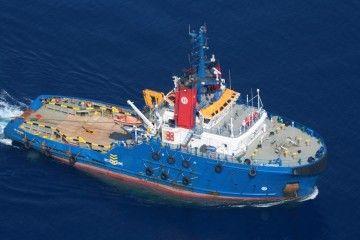 """El remolcador """"VB Hispania"""" está camino de Ferrol"""