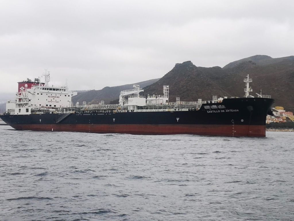 Este buque es la más reciente incorporación de la Empresa Naviera Elcano