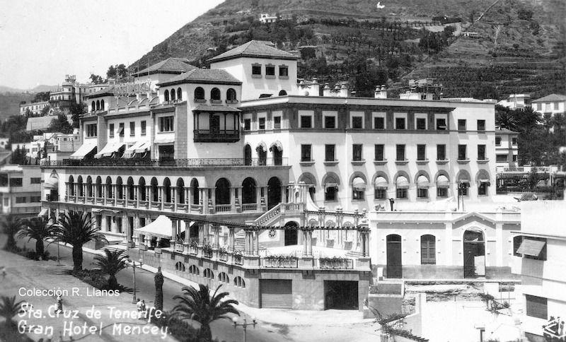 Vista del hotel desde la rambla esquina calle San Martín