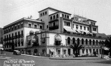 El Hotel Mencey, recién inaugurado (1950)