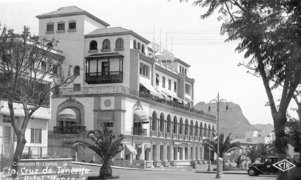 El Hotel Mencey, visto desde el Paseo de las Tinajas