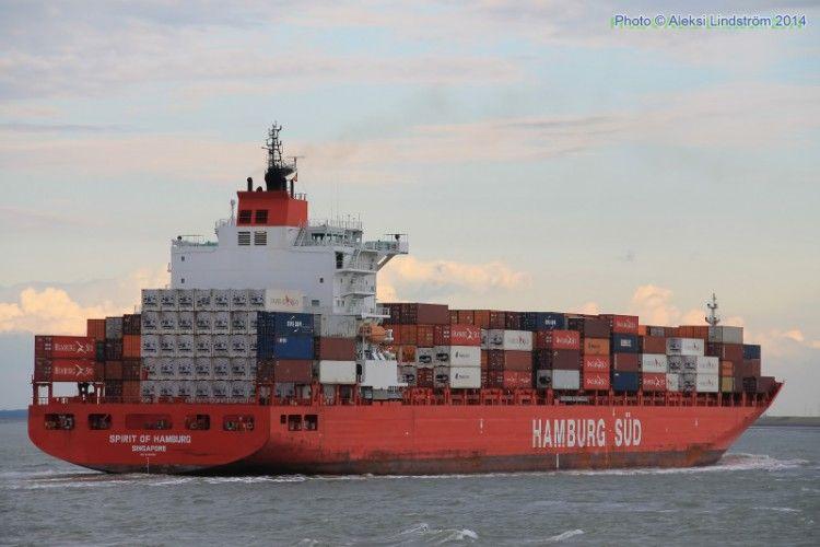 """Desde 2014 el buque """"Spirit of Hamburg"""" es propiedad de Zeaborn Ship Management"""