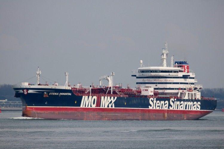 """El buque """"Stena Immortal"""", quimiquiero de la flota de Stena Bulk"""