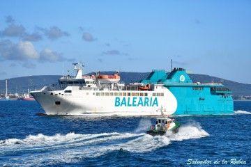 """El ferry """"Passió per Formentera"""" cubre la línea Algeciras-Ceuta de Balearia"""