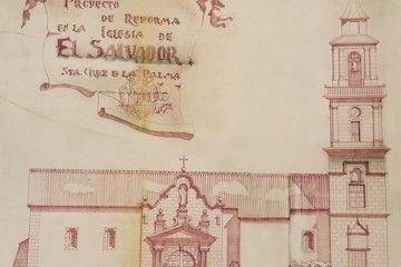 Alzado del proyecto presentado en 1947 por el arquitecto Tomás Machado