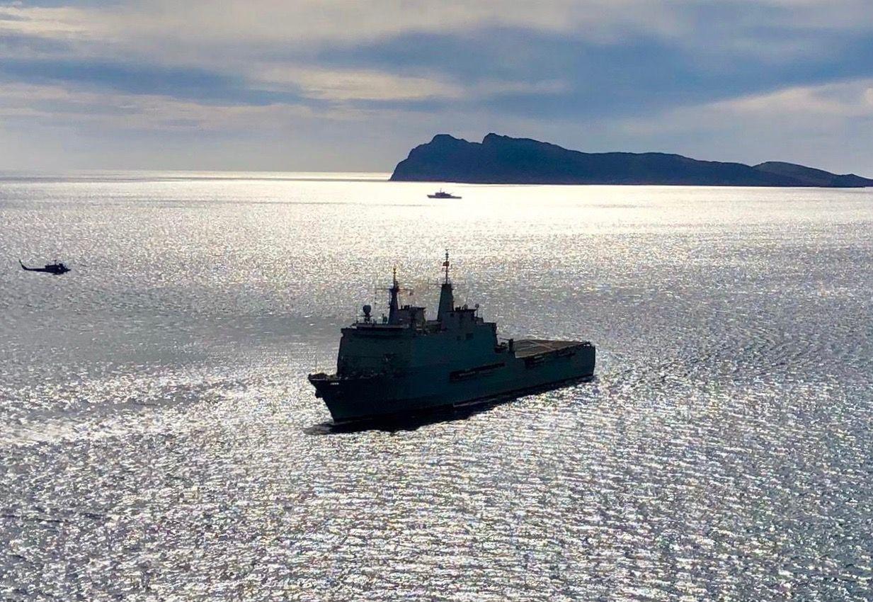 """El buque LPD """"Galicia"""" tiene capacidad hospitalaria"""