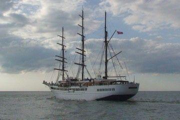 """El buque """"Sea Cloud II"""" es de construcción española"""
