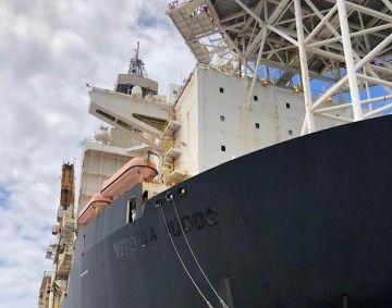 """El buque """"Victoria I"""" viene para una larga estadía en Granadilla"""