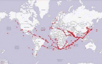 Localización de petroleros tipo VLCC como almacenamiento de crudo