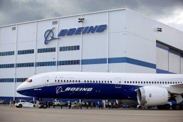 Vista parcial de la factoría de Boeing en Carolina del Sur