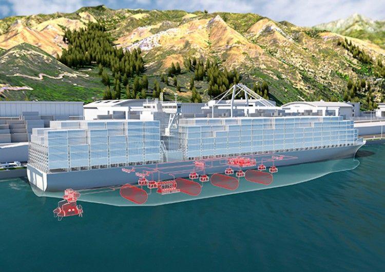 El hidrógeno pretende ser una alternativa en la propulsión naval