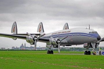 El avión se encuentra en un excelente estado de conservación