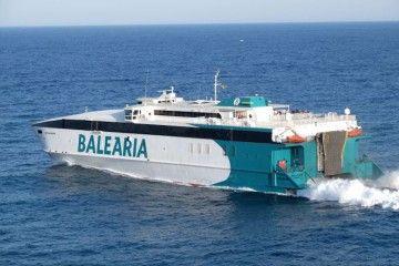 """El catamarán """"Cecilia Payne"""" cubrirá la línea Palma-Ibiza-Denia"""