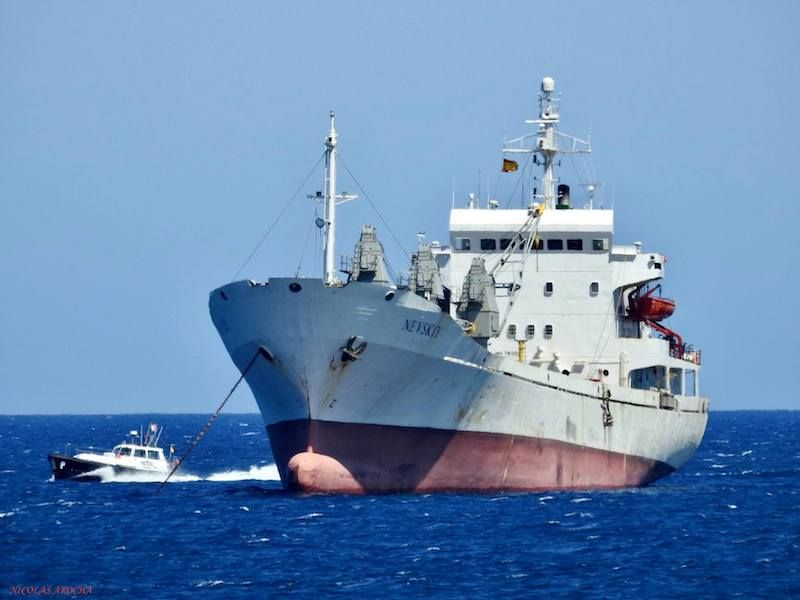 """El buque """"Nevskiy"""" sigue en servicio 40 años después de su construcción"""