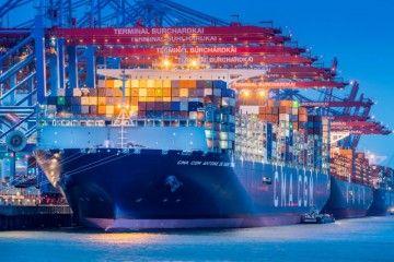 CMA CGM es la tercera compañía del mundo en transporte de contenedores