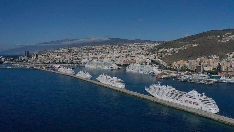 Los cuatro buques de Silversea Cruises y los dos megacruceros de Aida Cruises