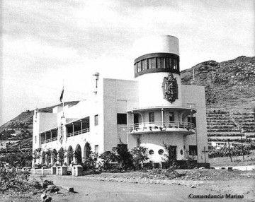 La Comandancia Naval de Tenerife, recién terminada (1945)