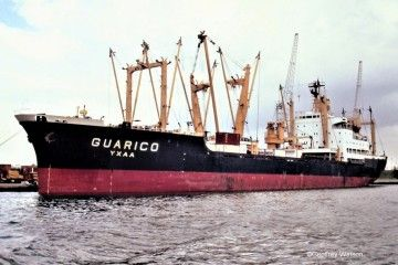 "Estampa marinera del buque ""Guárico"""