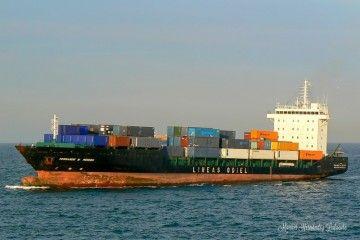 """Estampa marinera del buque """"Fernando M. Pereda"""""""