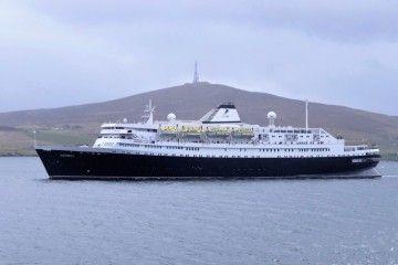 """El buque """"Astoria"""", uno de los cinco detenidos en el Reino Unido"""