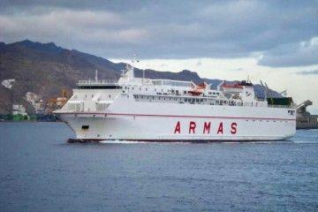 """El ferry """"Volcán de Tauce"""" retornará a la línea Las Palmas-Puerto del Rosario"""