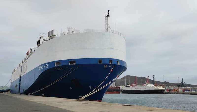 Dos buques de la flota de Suardíaz coinciden en el puerto de Las Palmas de Gran Canaria