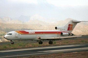 """Boeing B-727 EC-DDZ """"Murallas de Ávila"""", a punto de aterrizar en Tenerife Norte"""