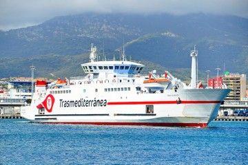 """El ferry """"Ciudad de Málaga"""" hará dos viajes extraordinarios de repatriación"""