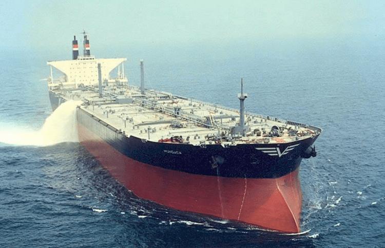 """El petrolero """"Mundaca"""", recién entregado a Naviera Vizcaína"""