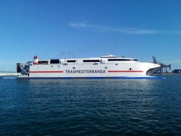 """El catamarán """"Ciudad de Ceuta"""" reanudará sus servicios el próximo lunes"""