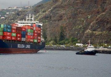 """El remolcador """"Boluda Don Blas"""" tiene base en Santa Cuz de La Palma"""