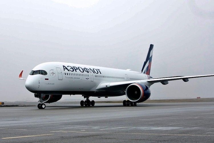 El primer A350 de Aeroflot rinde homenaje al compositor ruso Tchaikovsky