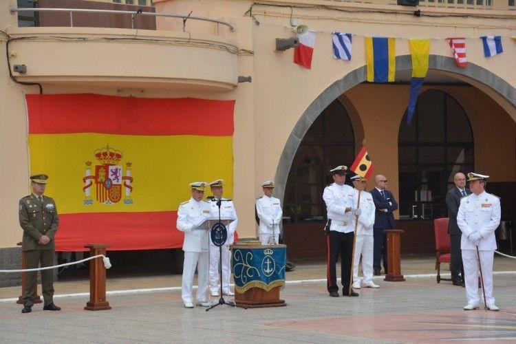 El acto de toma de posesión se celebró en el Arsenal de Las Palmas de Gran Canaria