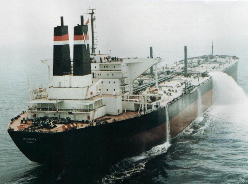 """Este buque y su gemelo """"Munguía"""" fueron los mayores de la flota de Naviera Vizcaína"""