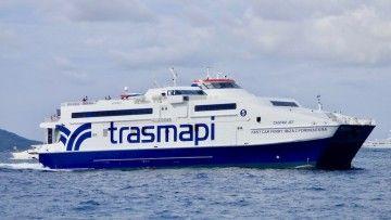 """El catamarán """"Castavi Jet"""", propiedad de Trasmapi"""