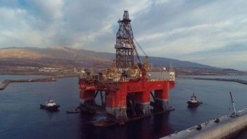 Las plataformas petrolíferas han sido los clientes más destacados del puerto de Granadilla