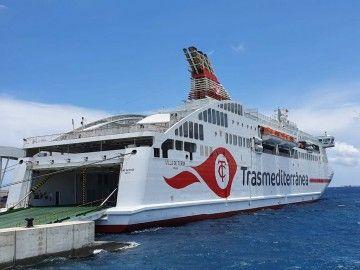 """El ferry """"Villa de Teror"""", novedad veraniega de Naviera Armas Trasmediterránea en Canarias"""
