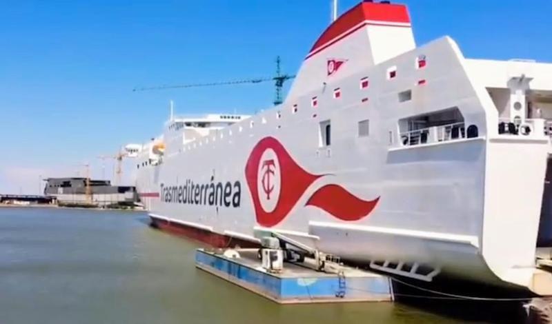 """El nuevo buque será el tercero en la historia de Trasmediterránea con el nombre de """"Ciudad de Valencia"""""""