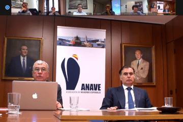 La asamblea de ANAVE se ha realizado este año por videoconferencia. Manuel Carrier (izq.) y Alejandro Aznar (dcha), presidente de ANAVE